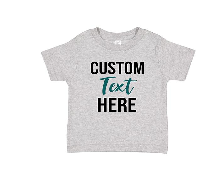 custom kids tshirt
