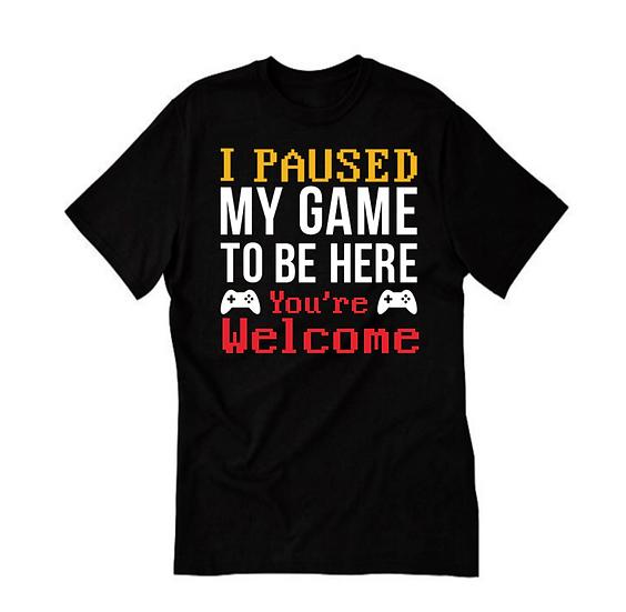kids video game shirt