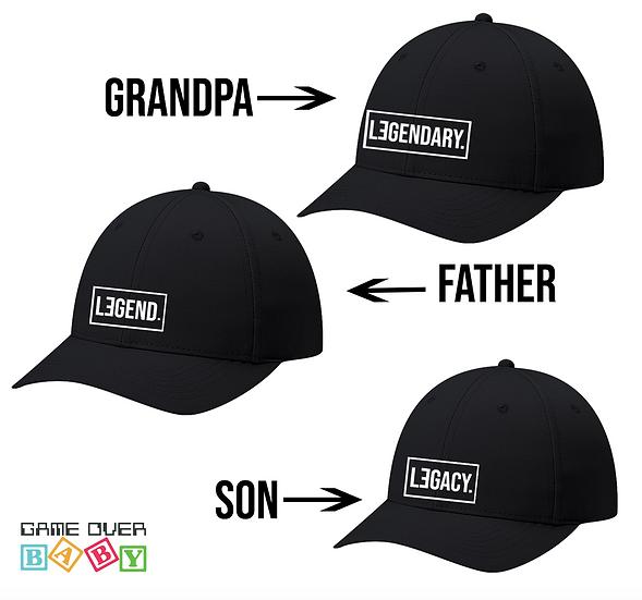 LENGENDARY - LEGEND - LEGACY HATS