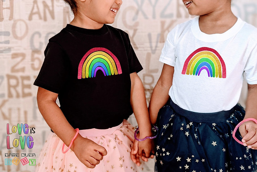RAINBOW TODDLER OR YOUTH TEE