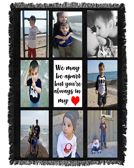 PERSONALIZED PHOTO BLANKET