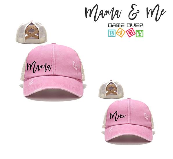 MAMA / MINI HAT SET
