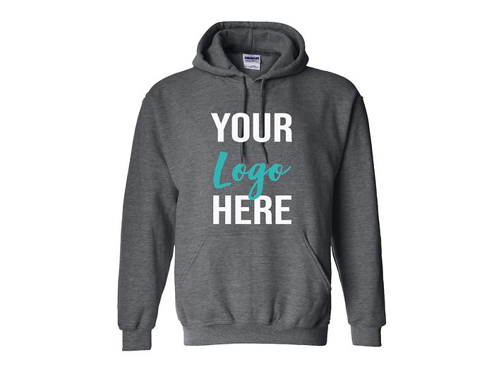 Custom business logo hoodie