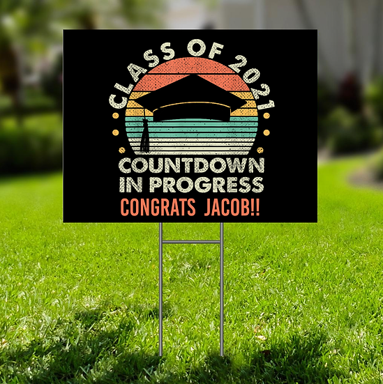 LAWN SIGN - PERSONALIZED