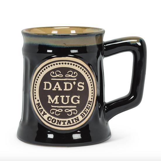 DAD'S MUG STONEWARE MUG