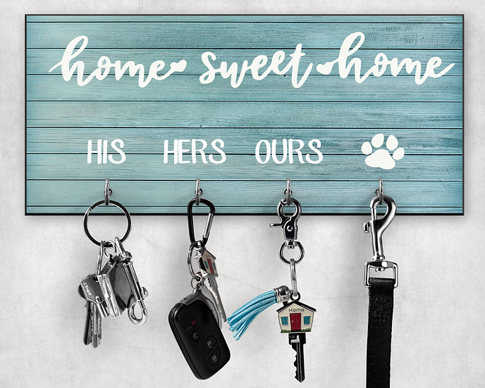 home sweet home key hanger