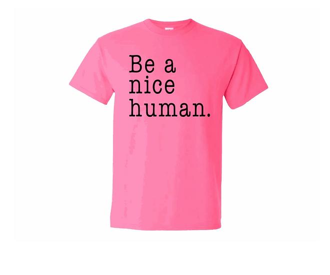 PINK SHIRT DAY - Be A Nice Human