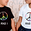 Thumbnail: RAINBOW PEACE TODDLER OR YOUTH TEE