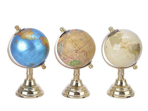 Globe en plastique