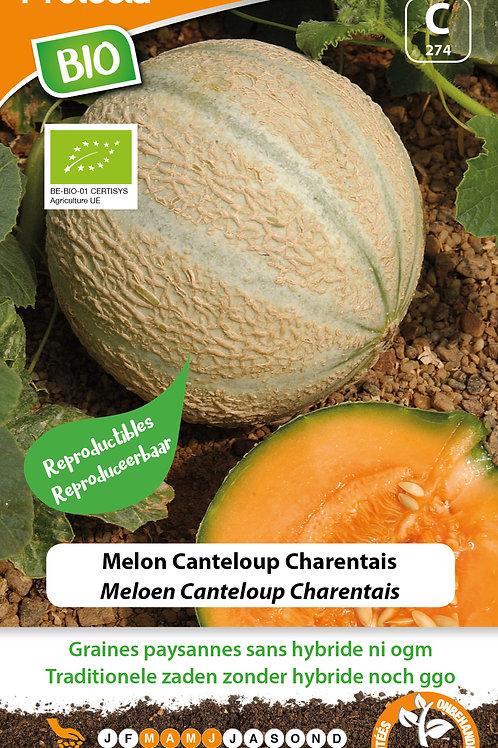 Protecta melon canteloup Charentais BIO