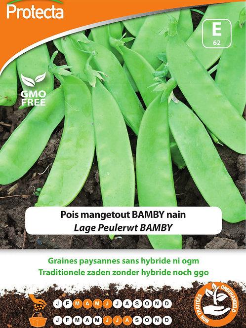 Protecta pois mangetout Bamby nain