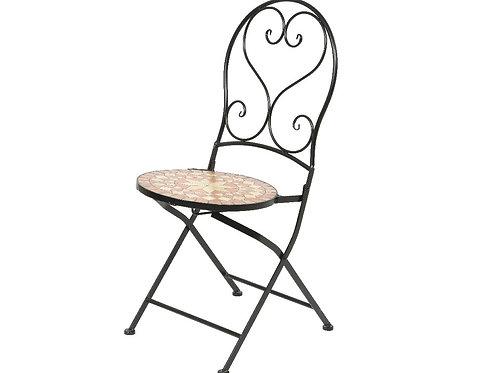 Chaise Andorra mosaïque