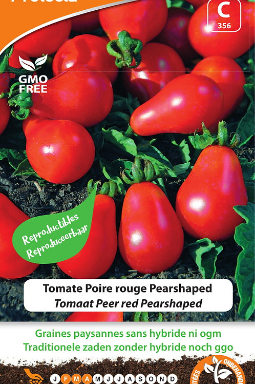 Protecta Tomate Poire rouge Pearshaped