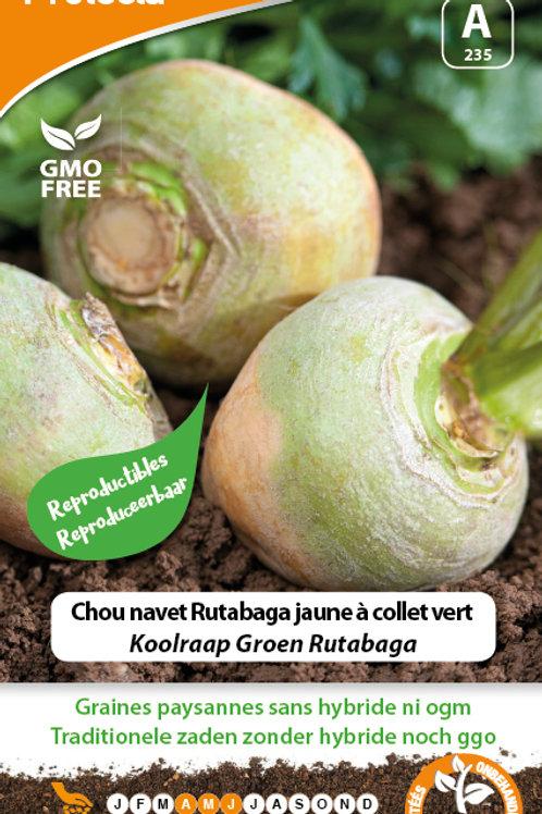 Protecta chou navet Rutabaga jaune à collet vert