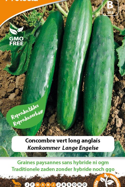 Protecta concombre vert long anglais