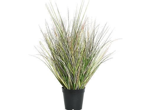herbe plastique en pot (dia70x65cm)