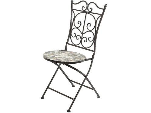 Chaise Siena mosaïque