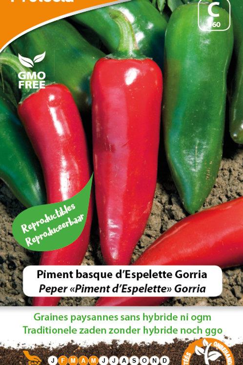 Protecta piment basque d'Espelette Gorria