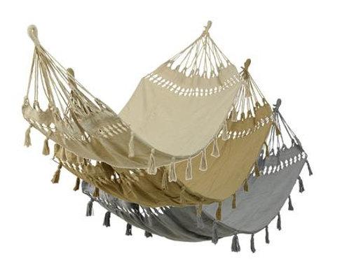 Hamac en coton couleur : sable