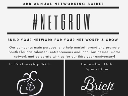 #NetGROW: Untapped Miami's 3rd Annual Networking Soirée