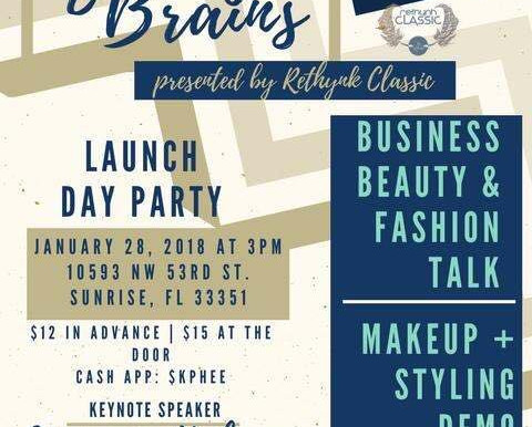 Beauty & Brains Launch Day Party by Rethynk Classic