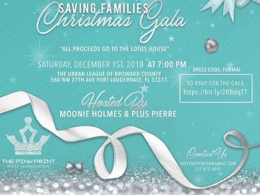 The Pink Print Event Coordination Saving Families Christmas Gala