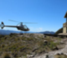 Old Ghost Road Helicopter