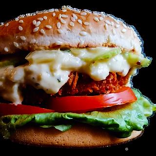 mono fastfood burger