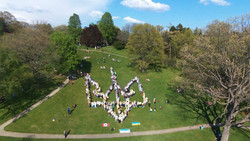 Flash mob at High Park - 450 people