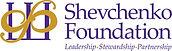 Shevchenko Foundation logo with tagline.