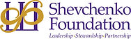 Shevchenko Foundation logo with tagline.