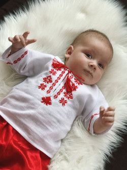 Born in Vyshyvanka Вишиванка Канада