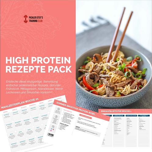 High Protein Rezepte-Buch