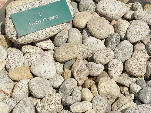 White Cobble 2""
