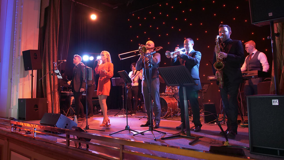 the soul establishment 9 piece band available for weddings and events function band