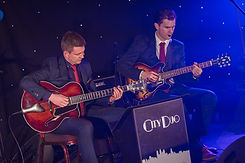 City Duo jazz guitar duo events and weddings