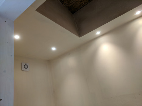 Bathroom Lighting Installed by our Electrician Matt in Dorking