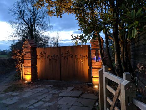 Gate Lighting Installation Reigate