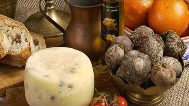 Pecorino with truffle