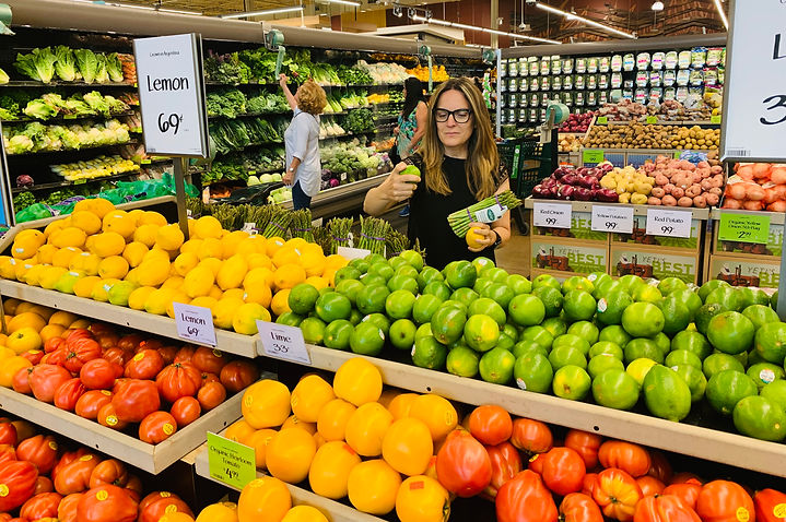 Shopping at the Grocery Store  IMG_4226.
