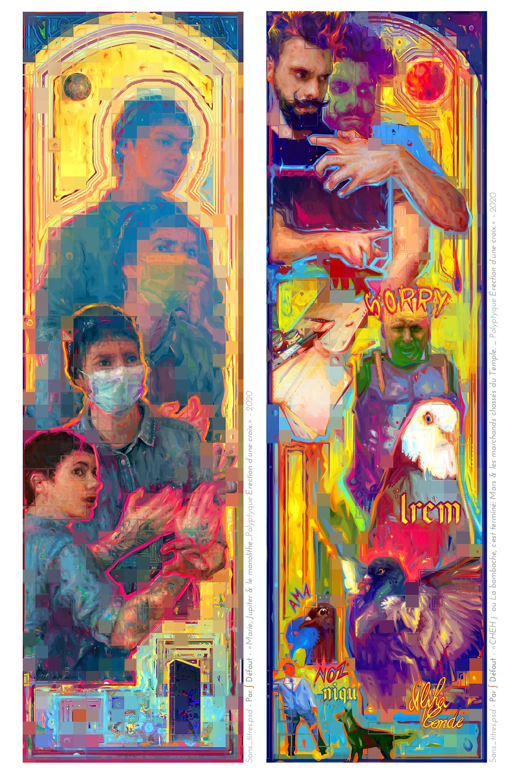 Digital Painting. Concept Art. Figurative Portrait. Donald Trump.