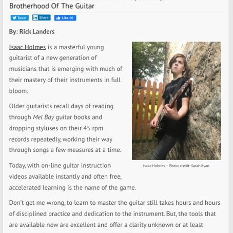 Guitar International Interview