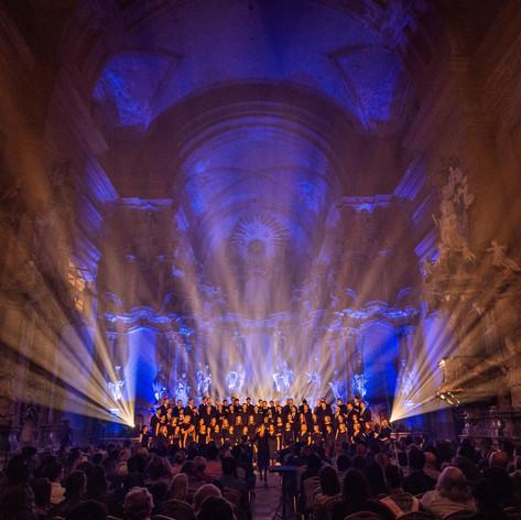 Concert Tour to Vilnius, Lithuania, with Svanholm Singers, April 2018. Photographer Gabrielius Jauniskis