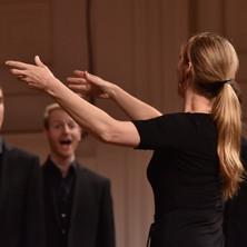 Choir Competition with Svanholm Singers, Maribor, Slovenia, April 2015