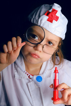 re-enacting a medical concern