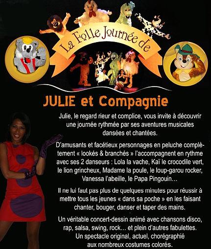 LA FOLLE JOURNEE DE JULIE et COMPAGNIE -