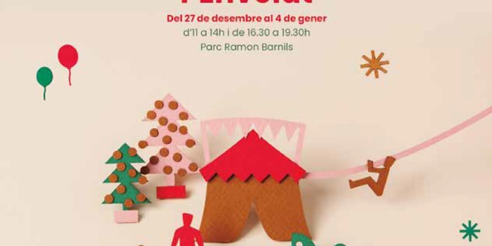 2018, 30 i 31 de desembre - Nadal a l'envelat a Sant Cugat del Vallès