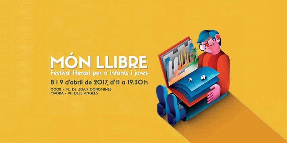 2017, 8 i 9 d'abril - Món Llibre - Barcelona