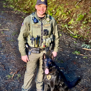 Newly Minted K9 Ghost Gets First Capture
