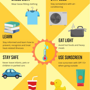 Simple Tips To Stay Safe During Extreme Heat Conditions